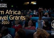 Film Africa Travel Grants 2019/2020 (Worth £2,500)
